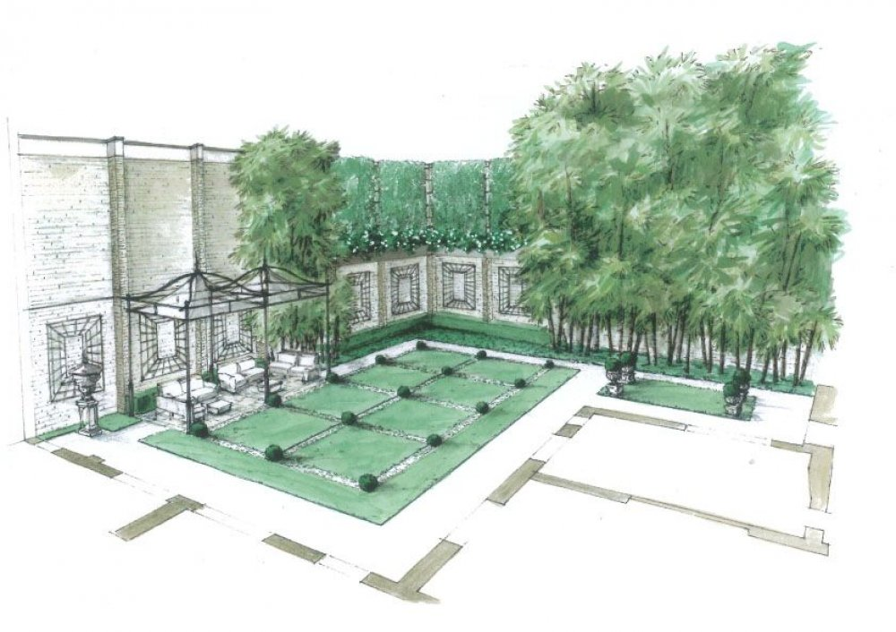 Grano giardini progetti - Giardini privati progetti ...