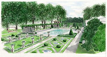 Grano giardini la progettazione for Progetti di giardini privati